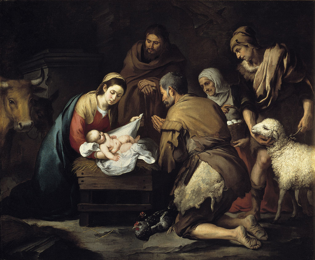 The Adoration of the Shepherds by Bartolomé Esteban Murillo