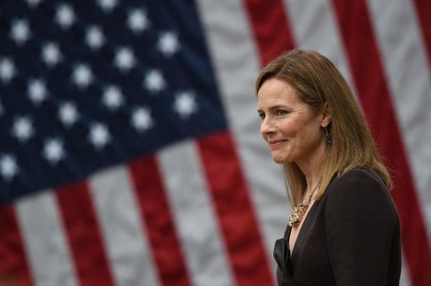 Justice Amy Coney Barrett, mother of seven